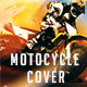 Motocycle Grunge Cover Facebook - GraphicRiver Item for Sale