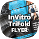 InVitro Tri Fold Flyer Template - GraphicRiver Item for Sale