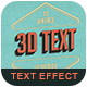 Retro Text Effect vol 1 - GraphicRiver Item for Sale
