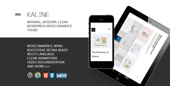 Kaline – Multipurpose, Minimal Creative WooCommerce Theme