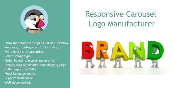 Responsive Carousel Logo Manufacturer - CodeCanyon Item for Sale
