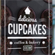 Cupcake Coffee and Bakery Flyer - GraphicRiver Item for Sale