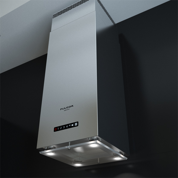Fulgor Milano Supreme SHD 9004 TC X Cooking Hoods - 3DOcean Item for Sale