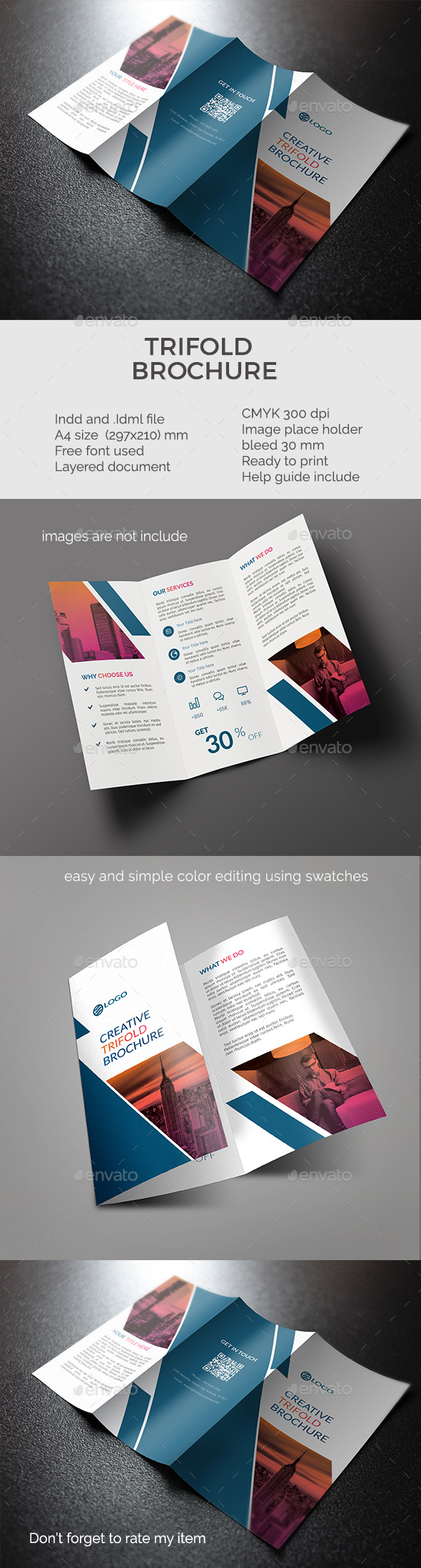 trifold - Corporate Brochures
