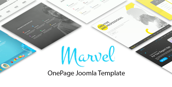 Mavel – Best Onepage Joomla Template With Quix PageBuilder