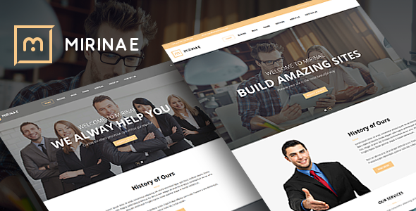 VG Mirinae - WordPress Insurance Agency Theme