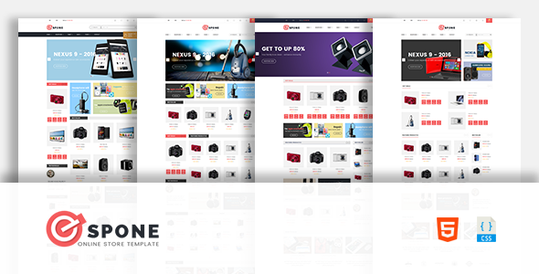 Espone – Electronics eCommerce Template - Shopping Retail