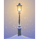Retro Street Lamp - GraphicRiver Item for Sale