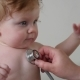 Stethoscope Listening To A Baby Heart Beat - VideoHive Item for Sale