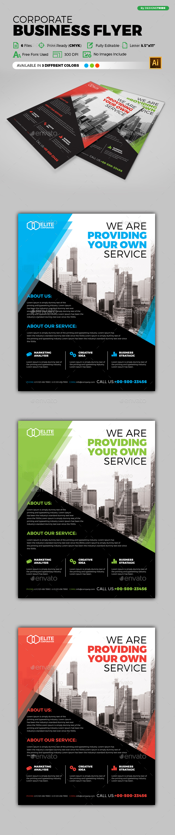 Flyer – Multipurpose 244 - Corporate Flyers
