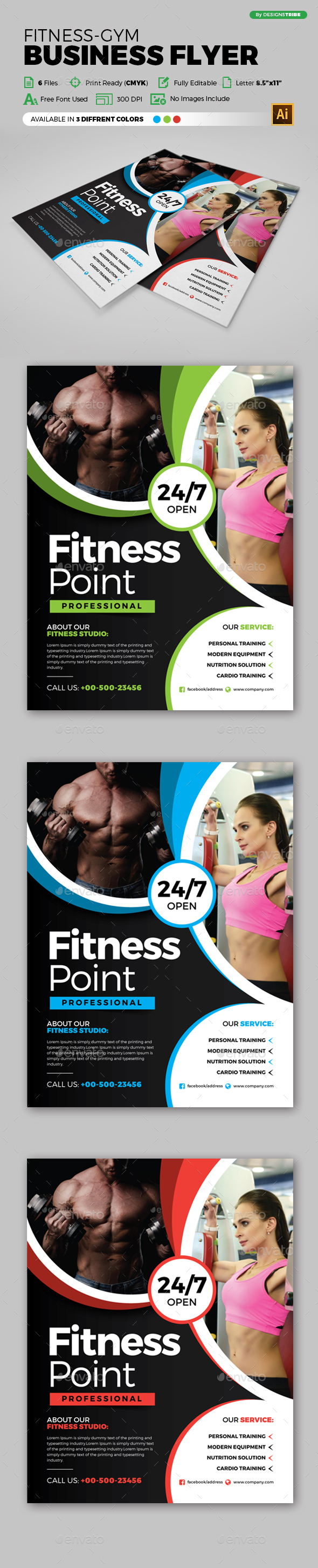 Flyer – Multipurpose 244 4 - Sports Events