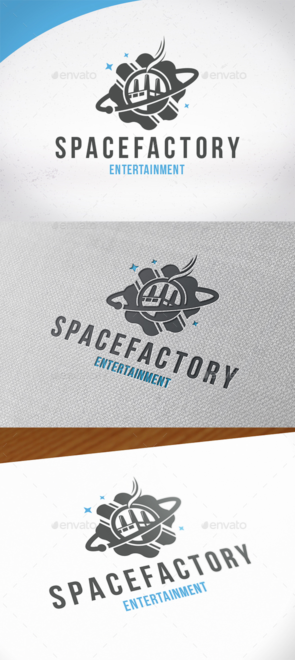 Space Factory Logo Template - Symbols Logo Templates