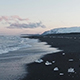 Ice On The Beach In Iceland - VideoHive Item for Sale