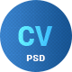 CV & Portfolio / Resume PSD template - ThemeForest Item for Sale