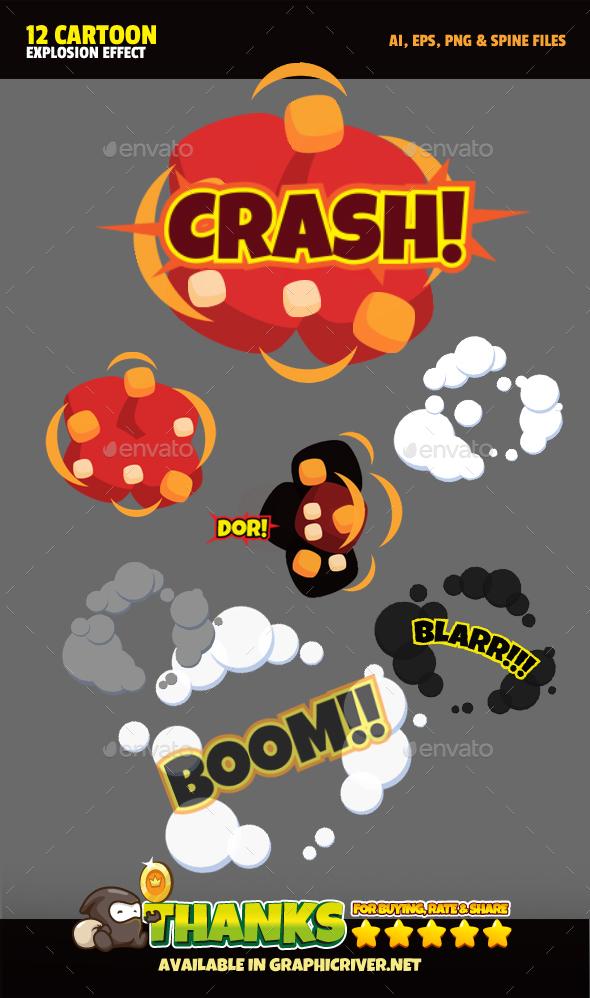 Explosion FX - Sprites Game Assets