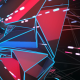 Polygonal Space Tunnel VJ Loop - VideoHive Item for Sale