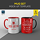 Mug Set Mock up Template