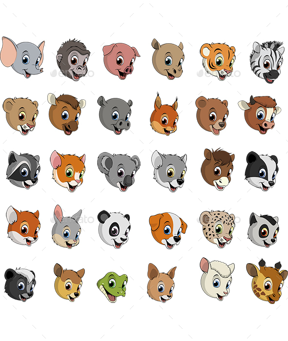 Exotic Animals - Animals Characters