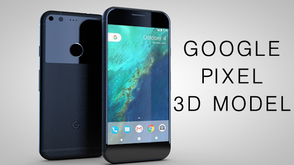 google pixel - 3DOcean Item for Sale