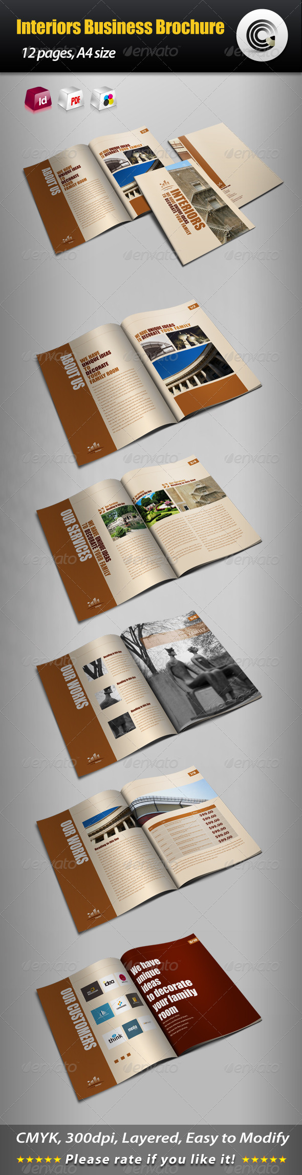 Interiors Business Brochure - Corporate Brochures