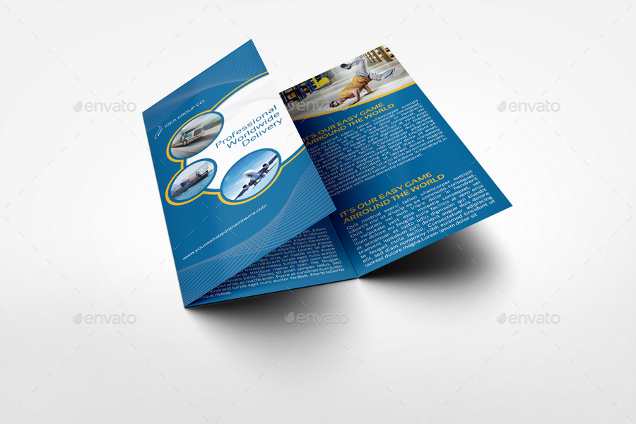 3 fold flyer template