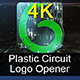 Plastic Circuit Logo Opener / Element 3D - VideoHive Item for Sale