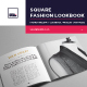Square Fashion Lookbook / Product Book - GraphicRiver Item for Sale