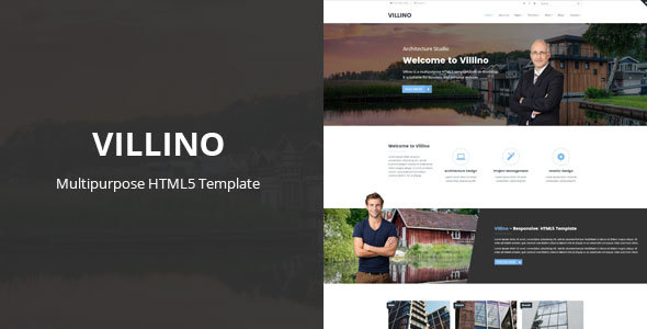 Villino – Multipurpose HTML5 Template