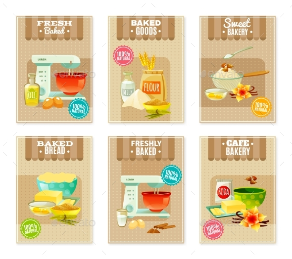 Baking Banners And Cards - Miscellaneous Conceptual
