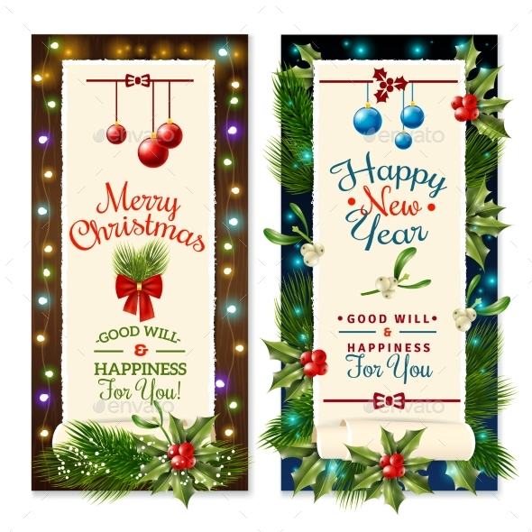Christmas Holiday Banners - Christmas Seasons/Holidays