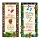 Christmas Holiday Banners