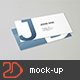 90x50 Business Card Mockup - GraphicRiver Item for Sale