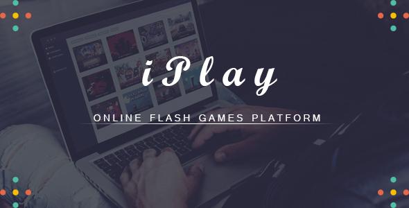 iPlay - Online Flash Games Platform - CodeCanyon Item for Sale