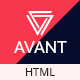 Avant - Creative & Parallax Multipurpose Nulled