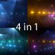 Concert Lights Glitter Pack 6 - VideoHive Item for Sale