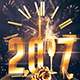 2017 NYE Party | Psd Invitation Template - GraphicRiver Item for Sale