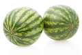 Watermelons isolated on white, clipping path - PhotoDune Item for Sale