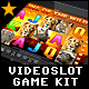 Videoslot Graphics Game Kit - King of the Wild - GraphicRiver Item for Sale