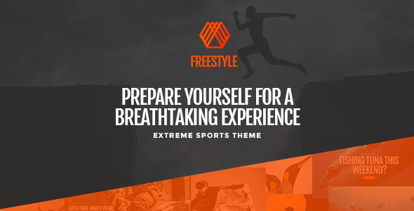 Freestyle – A WordPress Theme For Extreme Sports
