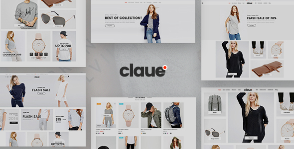 Claue – Clean, Minimal WooCommerce Theme