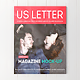 US Letter Magazine Mock-up - GraphicRiver Item for Sale