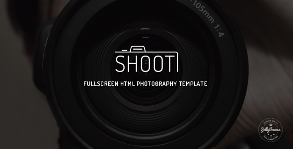 Shoot - Fullscreen Photography HTML Template - Photography Creative