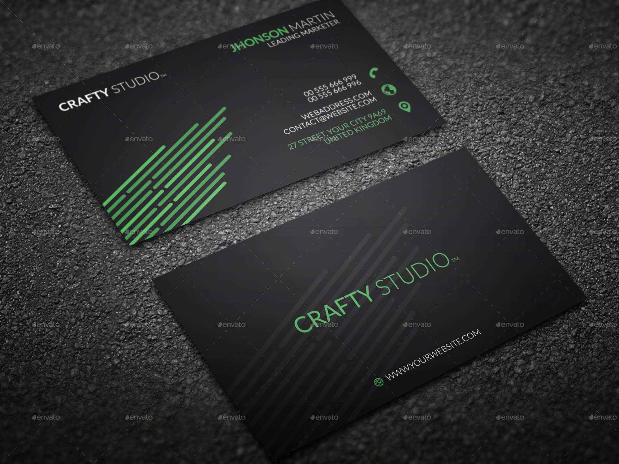 100 Dollar Bill Business Cards - WallsKid