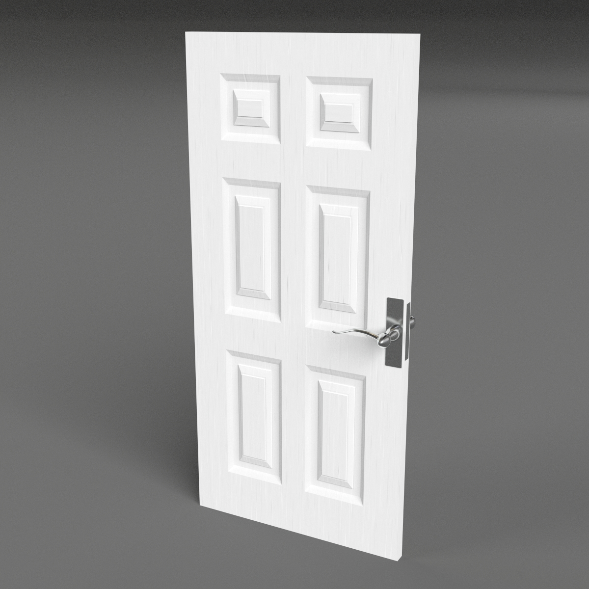Six Raised Panel Door