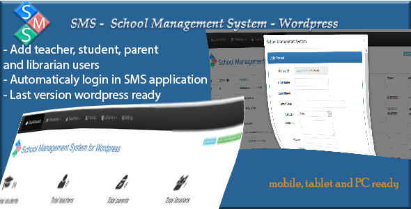 School Management System for Wordpress - CodeCanyon Item for Sale