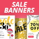 Autumn Social Media Sale Banners - GraphicRiver Item for Sale