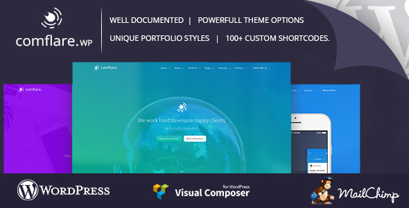 Comflare – Multipurpose WordPress Theme