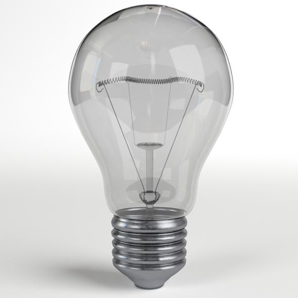 Light Bulb Lamp 2 - 3DOcean Item for Sale