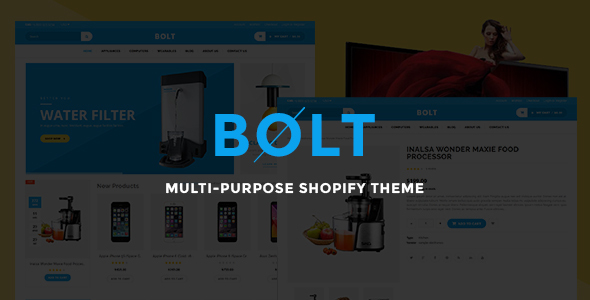 Bolt – Responsive Shopify Theme