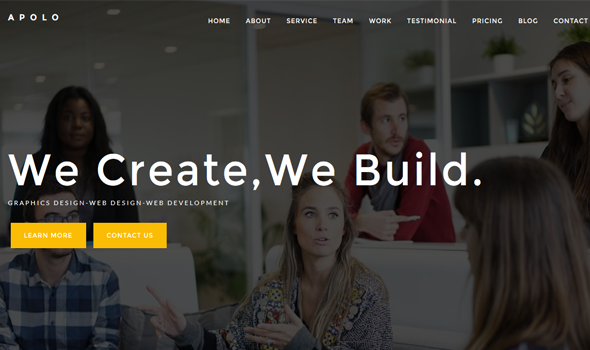 Apolo // Onepage Creative Business Template
